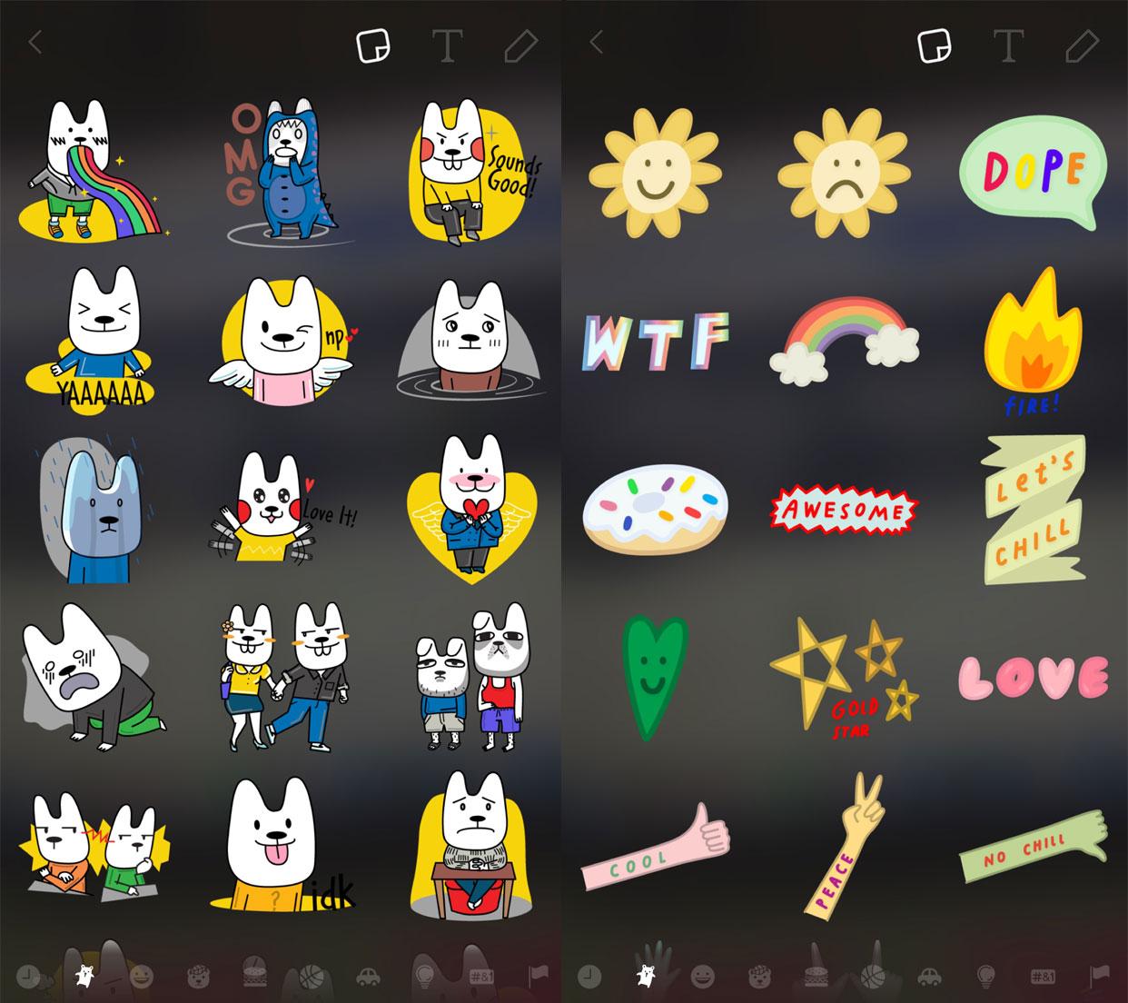 novos-stickers